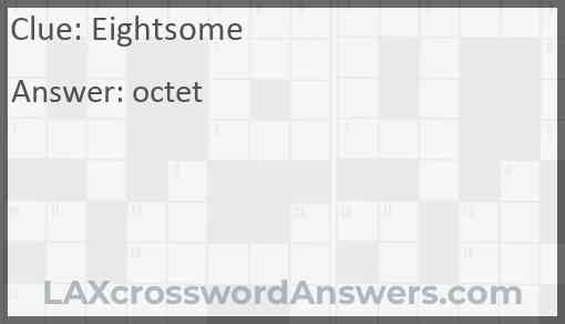 Eightsome Answer