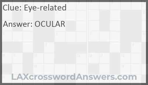 Eye-related Answer