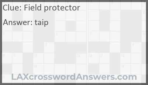 Field protector Answer