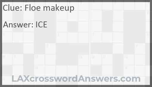 Floe makeup Answer