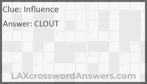 Influence Answer