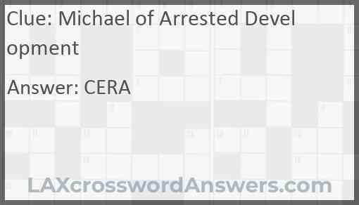 Michael of Arrested Development Answer