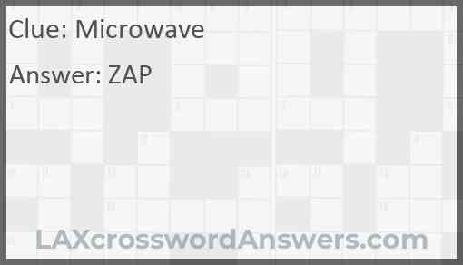 Microwave Answer