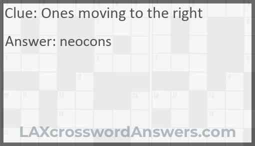 Ones moving to the right Answer