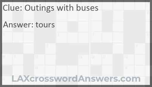 Outings with buses Answer