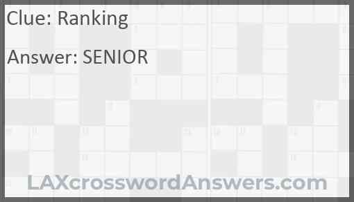Ranking Answer