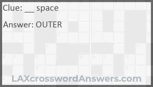 Space Answer