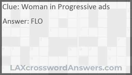 Woman in Progressive ads Answer
